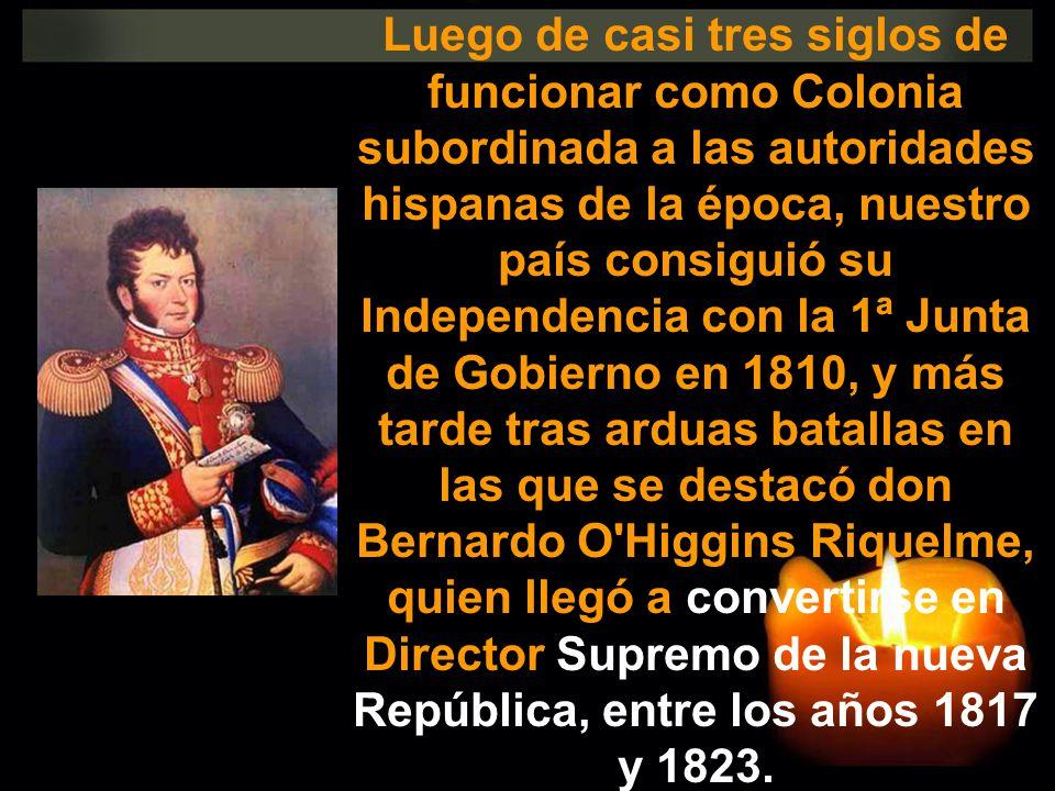 Luego de casi tres siglos de funcionar como Colonia subordinada a las autoridades hispanas de la época, nuestro país consiguió su Independencia con la