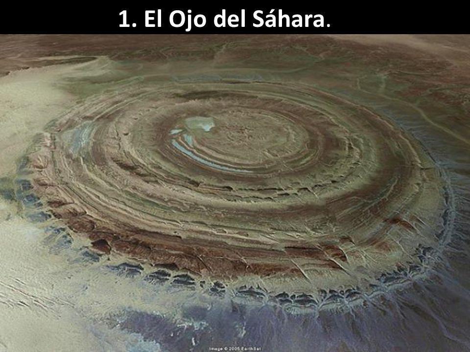1. El Ojo del Sáhara.