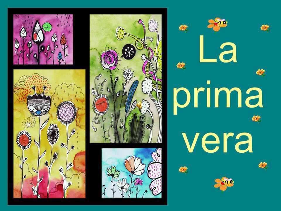 Las personas pintamos el campo y las flores de distintas maneras.