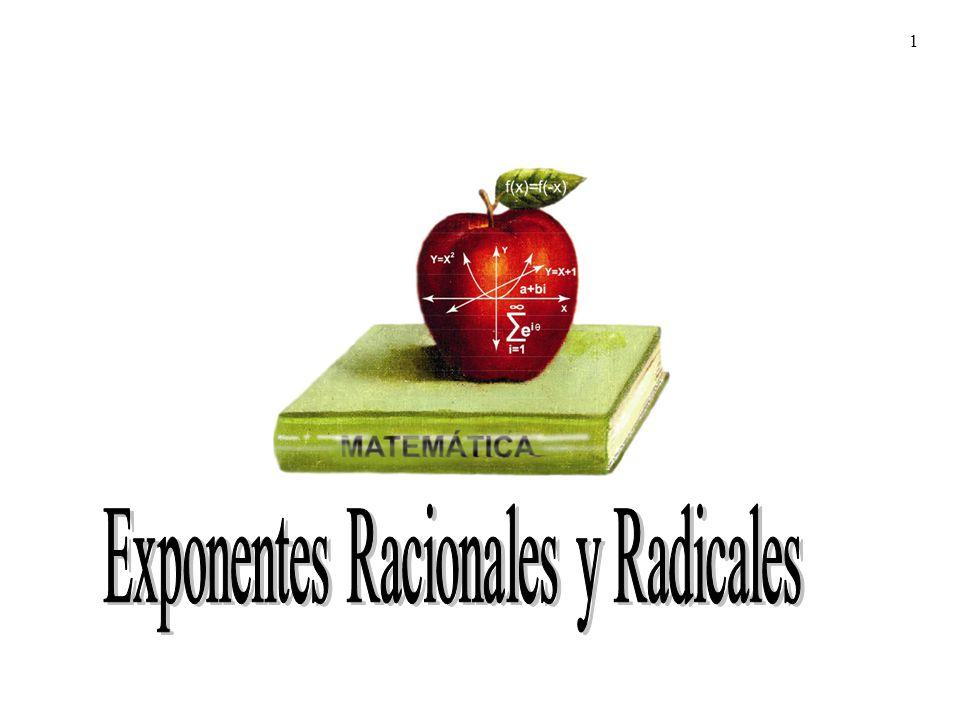 22 expresiones con radicales Multiplicación de expresiones con radicales Para multiplicar expresiones con radicales se usa la propiedad distributiva y las propiedades de radicales;
