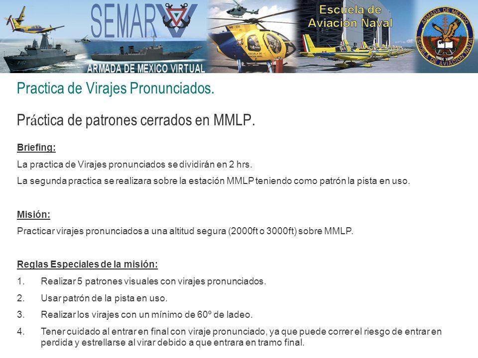 Practica de Virajes Pronunciados.Pr á ctica de patrones cerrados en MMLP.