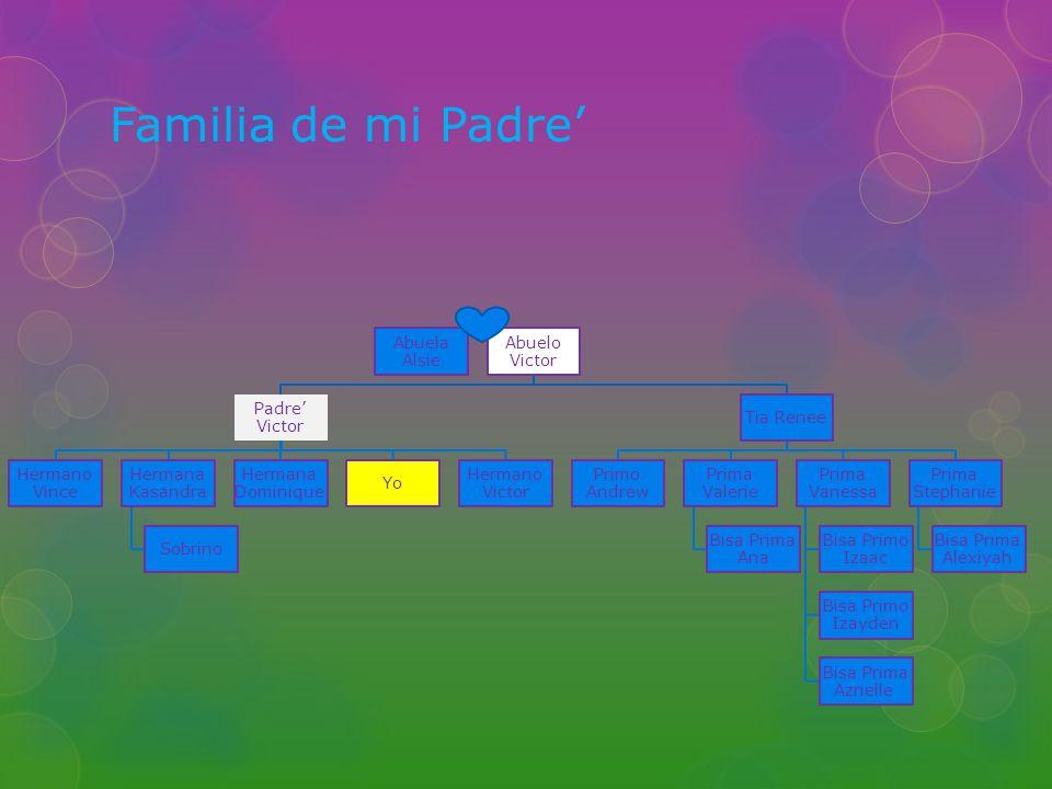 Mi Familia Mi familia es mui grande Me gusta los familia Mi familia es muy complicado Tengo muchos primos y hermanitos Mi Familia viva son de Silver City, Nuevo Mexico.