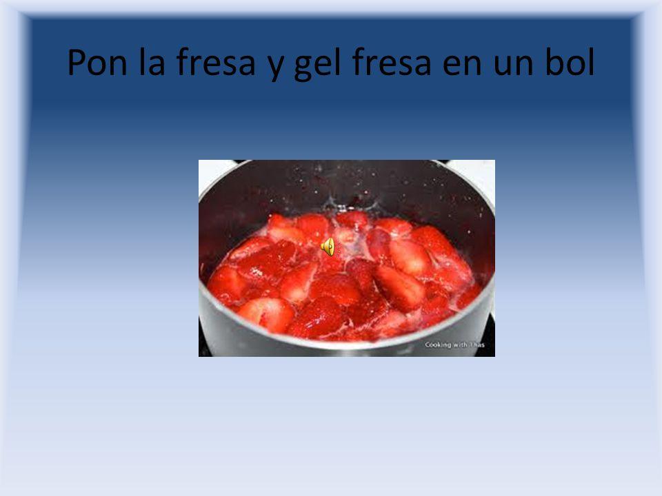 Corta la fresa