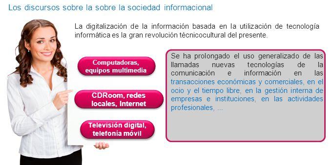 Los discursos sobre la sobre la sociedad informacional Codependenci as Nombre del curso Curso de Bienvenida Dirección Financiera & GAIM PANTALLA PRINC
