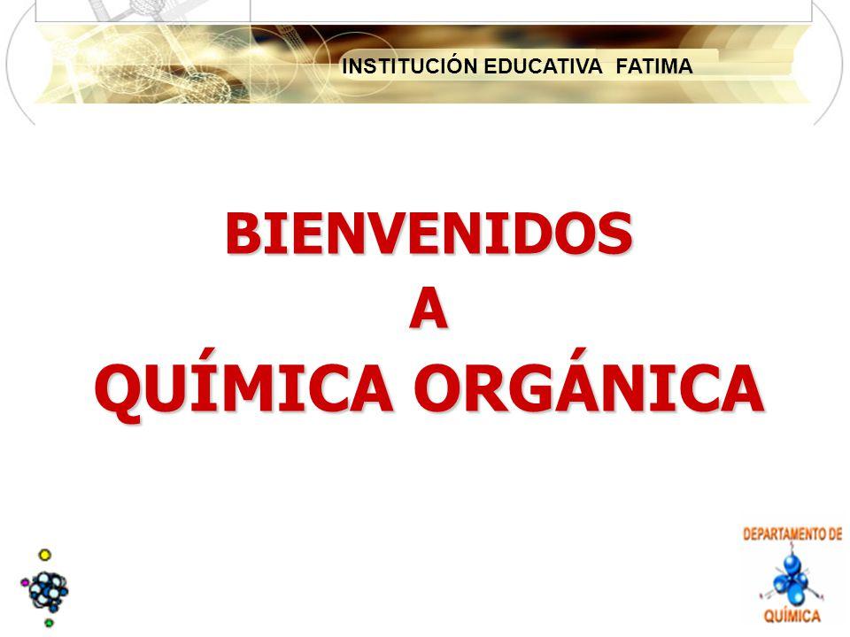 INSTITUCIÓN EDUCATIVA FATIMA BIENVENIDOSA QUÍMICA ORGÁNICA