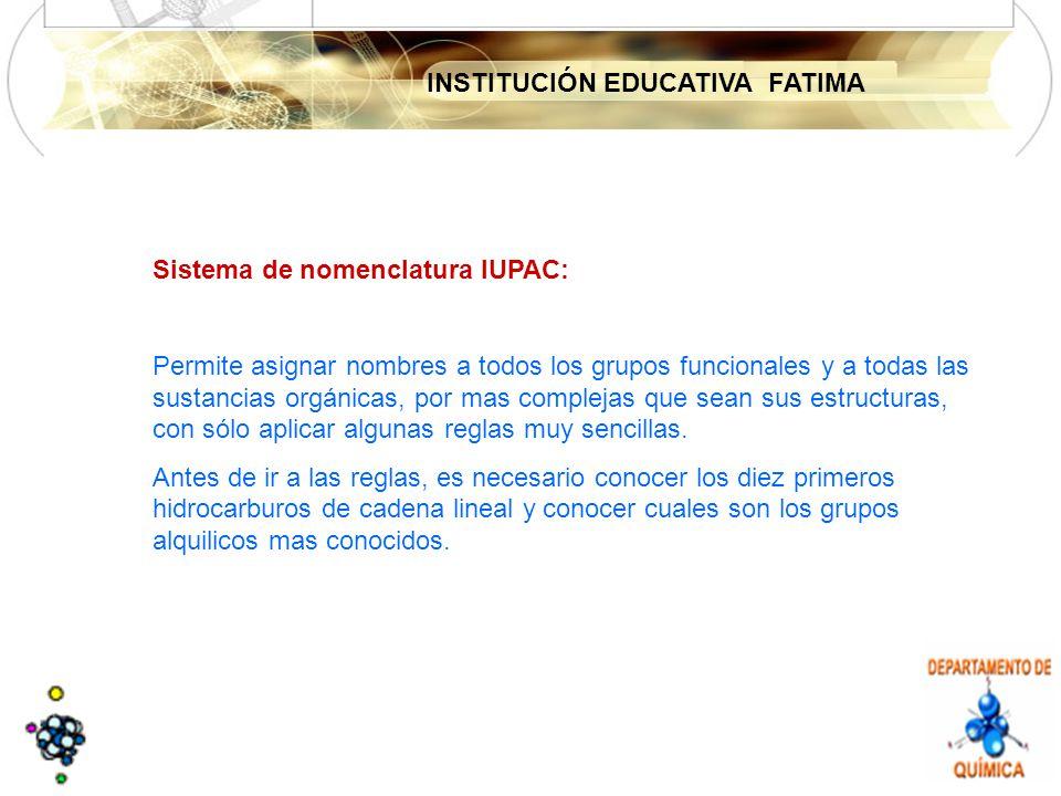INSTITUCIÓN EDUCATIVA FATIMA Solución