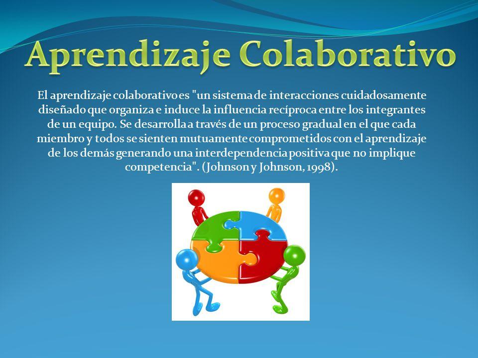 El aprendizaje cooperativo es un enfoque que realza el aprendizaje que se da entre alumnos, es decir, da oportunidad a los alumnos de enseñar y aprender en cooperación, la instrucción no sólo viene de parte del profesor, sino que recae en ellos como participantes activos en el proceso.