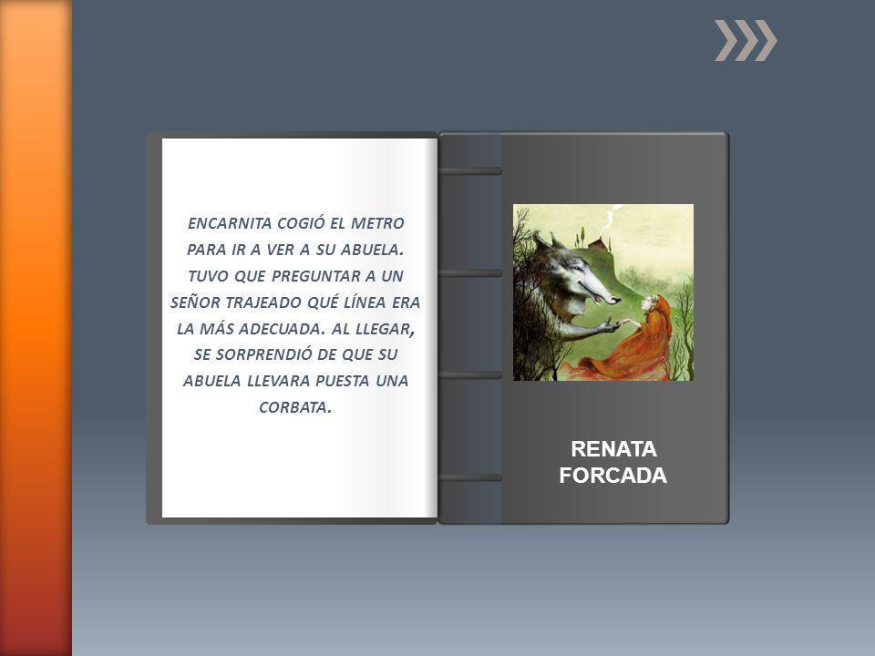 Introducción ENCARNITA COGIÓ EL METRO PARA IR A VER A SU ABUELA.