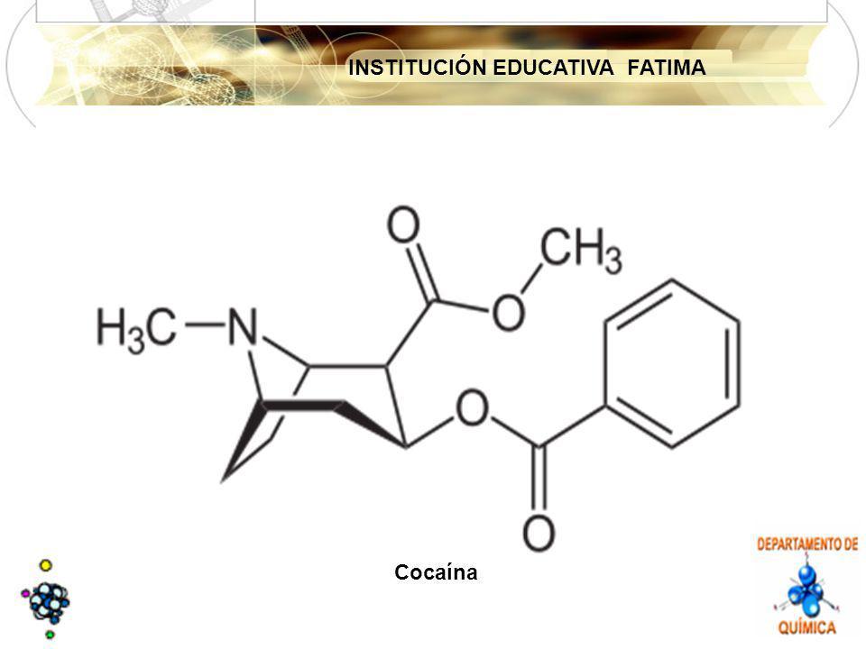 INSTITUCIÓN EDUCATIVA FATIMA Cocaína