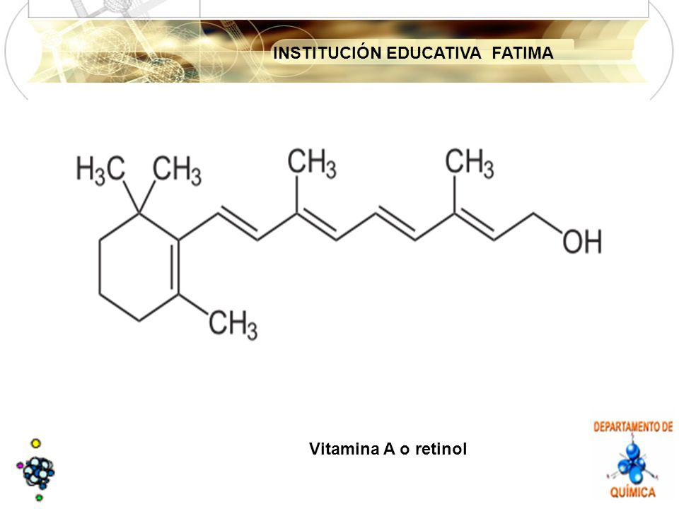 INSTITUCIÓN EDUCATIVA FATIMA Vitamina A o retinol