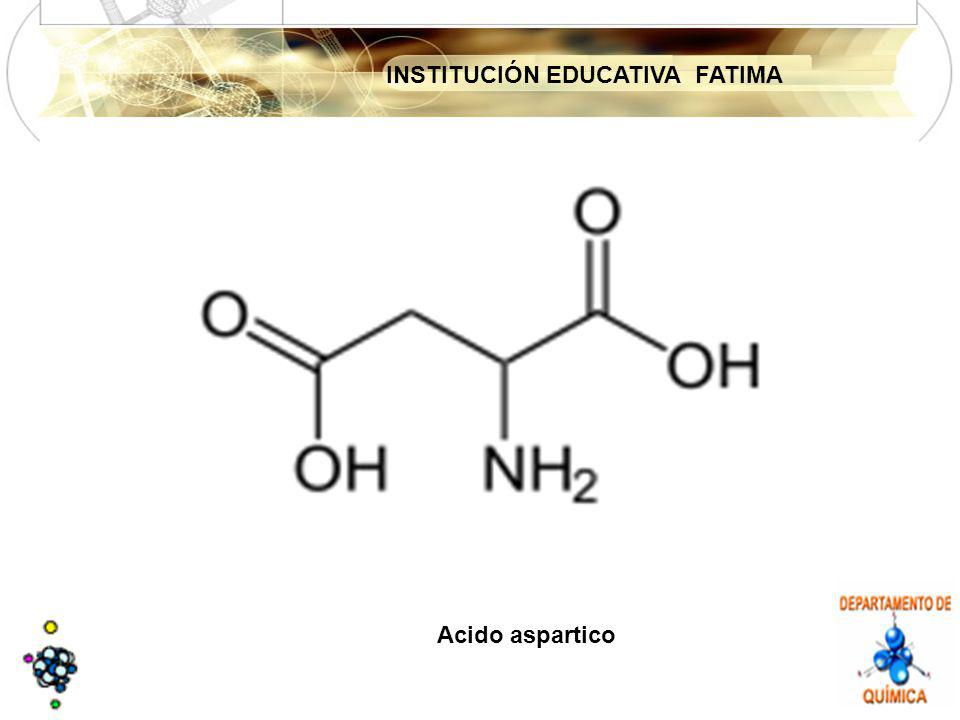 INSTITUCIÓN EDUCATIVA FATIMA Acido aspartico