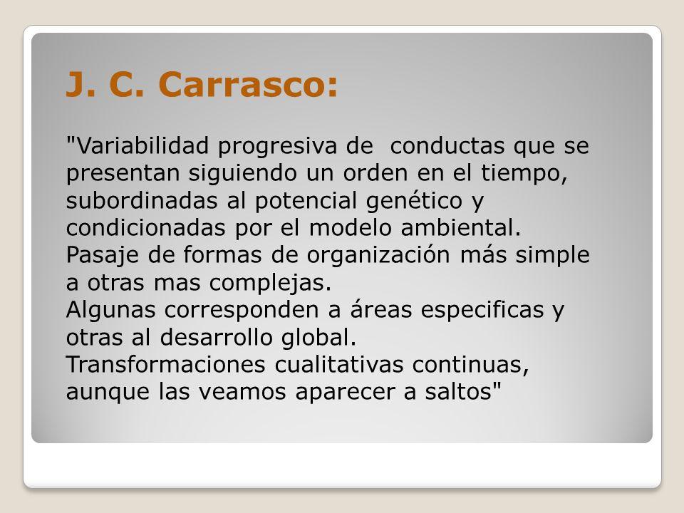 J. C. Carrasco: