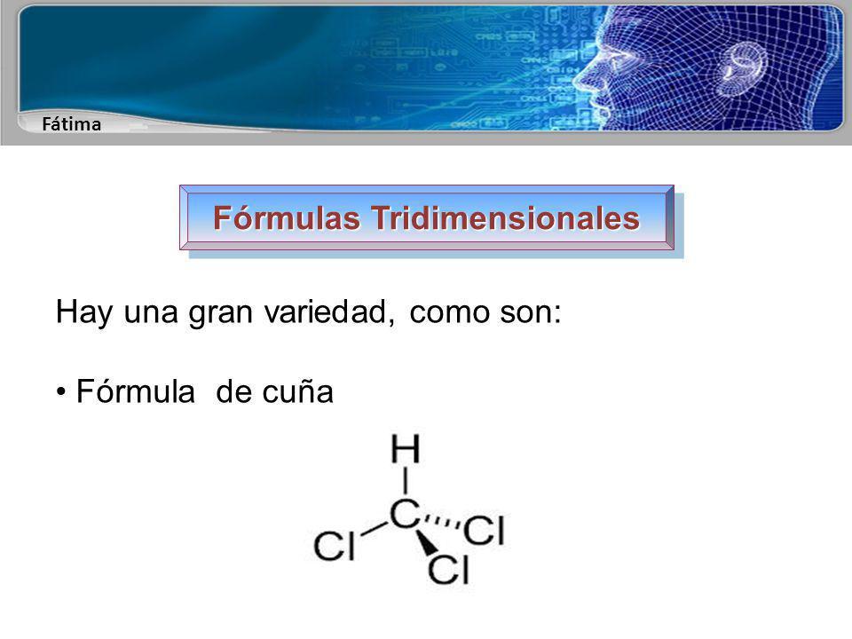 Fátima Fórmulas Tridimensionales Fórmula de cuña