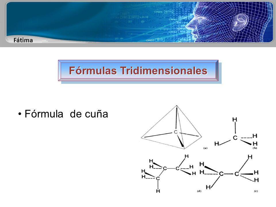 Fátima Fórmulas Tridimensionales Fórmula en perspectiva o de caballete