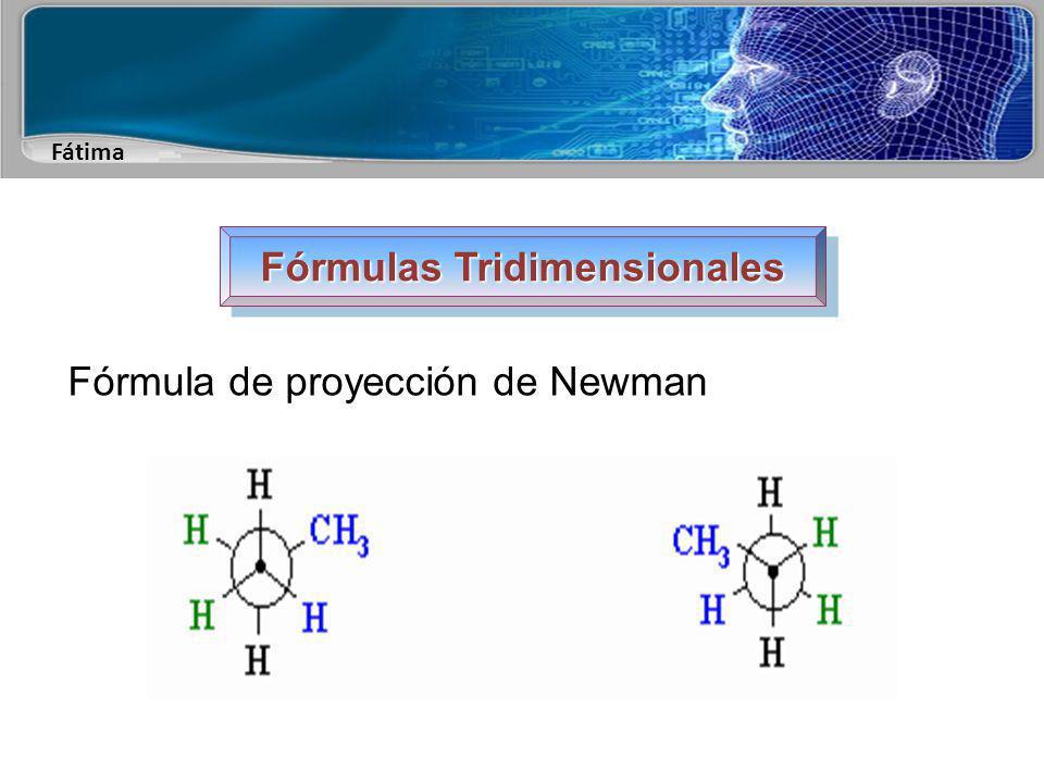 Fátima Fórmulas Tridimensionales Fórmula de proyección de Newman