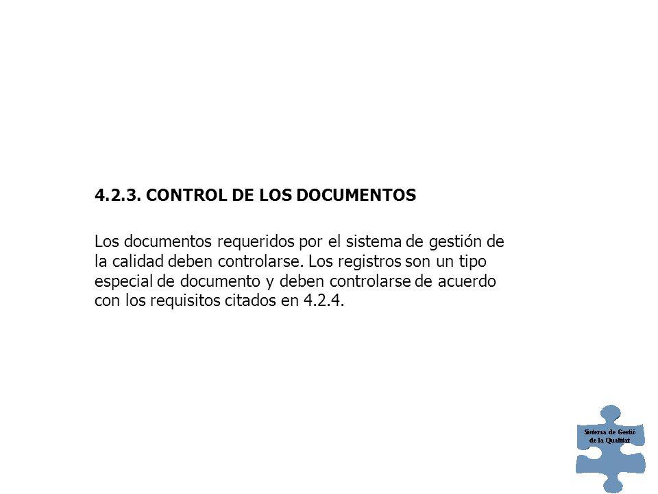 4.2.2. MANUAL DE CALIDAD La organización debe establecer y mantener un manual de calidad que incluya: a) El alcance del sistema de gestión de la calid