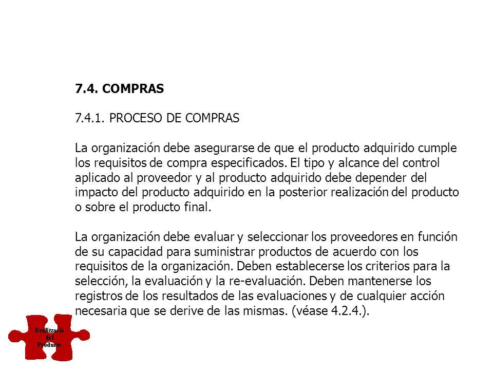 7.3.7. CONTROL DE LOS CAMBIOS DEL DISEÑO Y DESARROLLO Los cambios del diseño y desarrollo deben identificarse y deben mantenerse registros. Los cambio