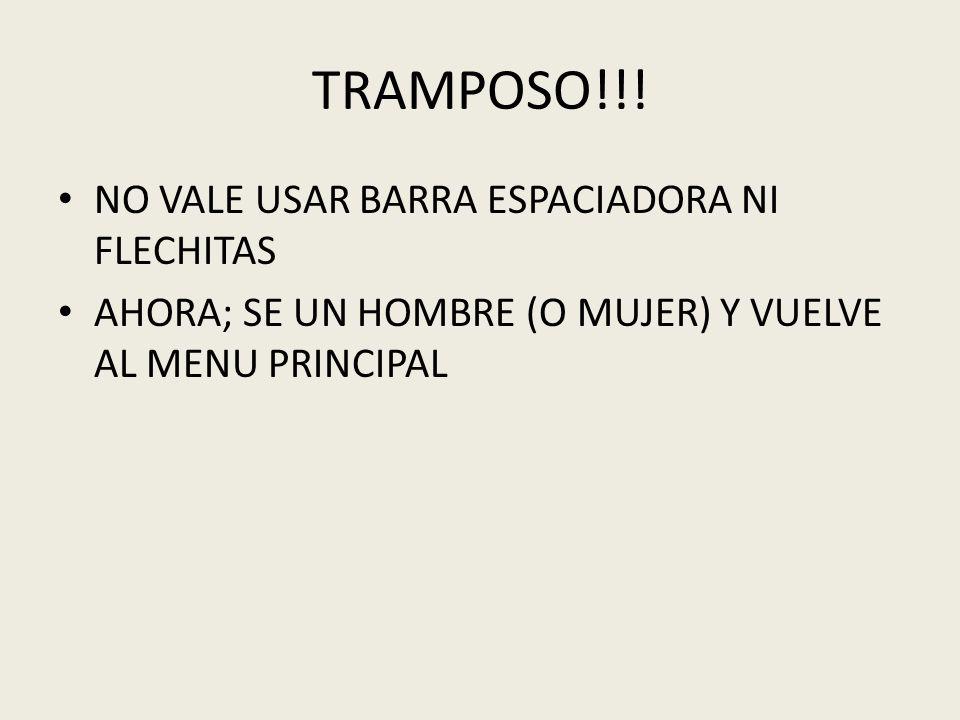 TRAMPOSO!!.
