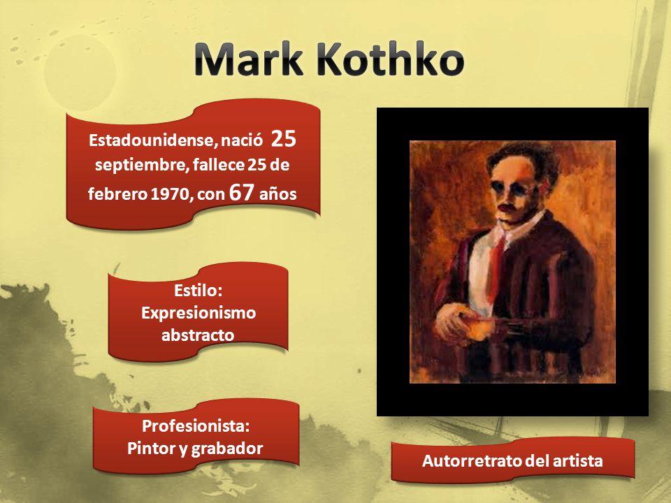 Obra del artista Estadounidense, nació 6 septiembre 1855, fallece 5 enero 1919, con 64 años Estilo: Realista Profesionista: Pintor, decía Detenerse es