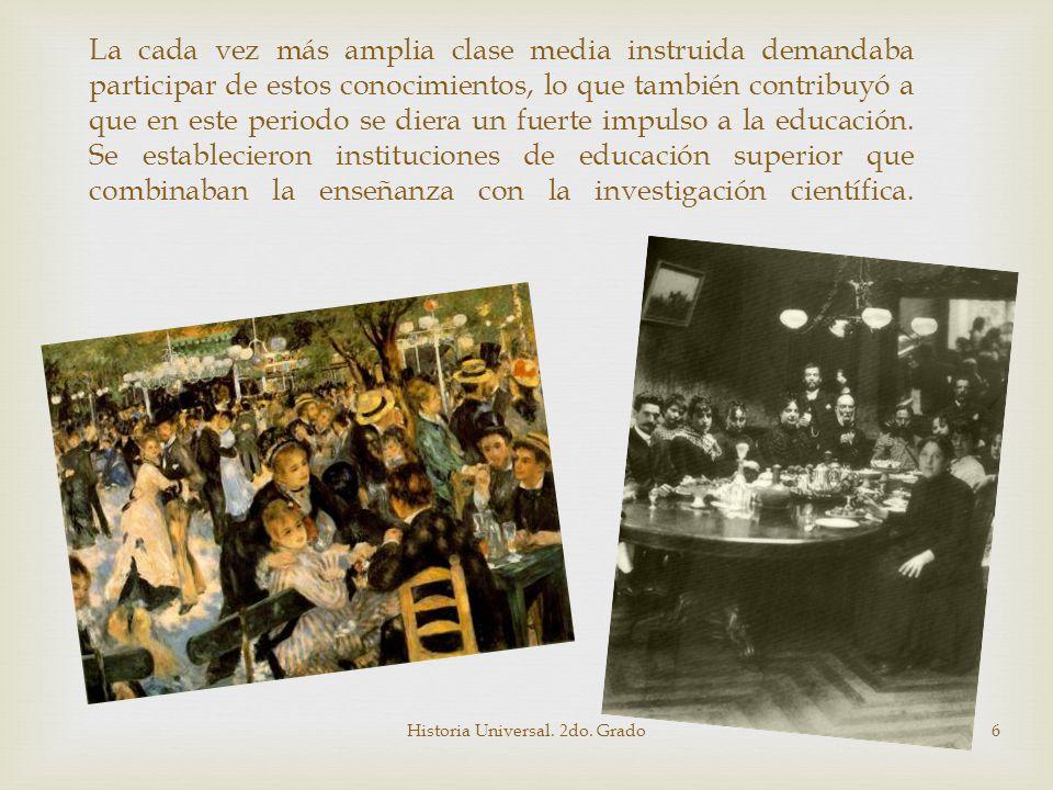 Se crearon instituciones para la difusión del conocimiento como bibliotecas y museos que compilaban y mostraban el pensamiento occidental en distintas