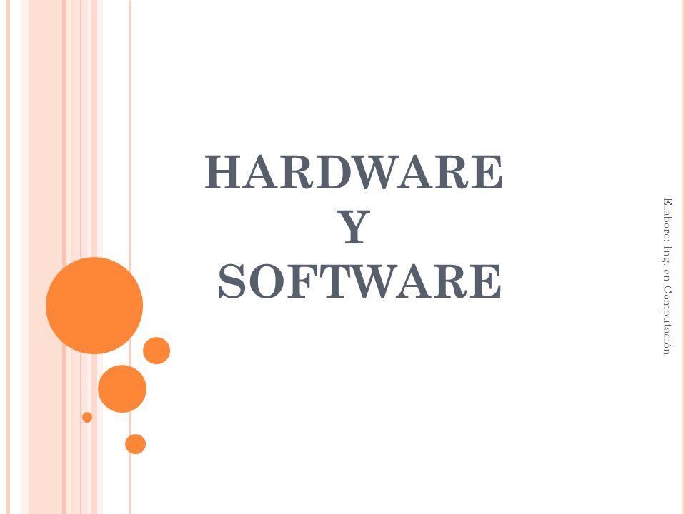 Dispositivos de almacenamiento Periféricos Sistemas operativos Software de aplicación