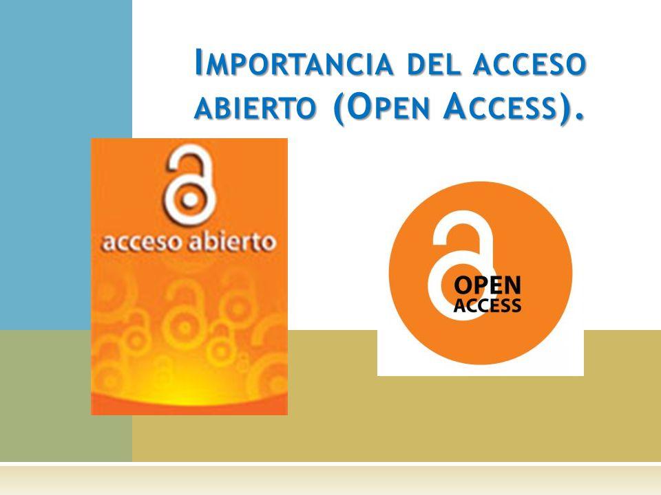 Posee opciones que permiten que los artículos de las revistas puedan ser mostradas en portales de acceso abierto.