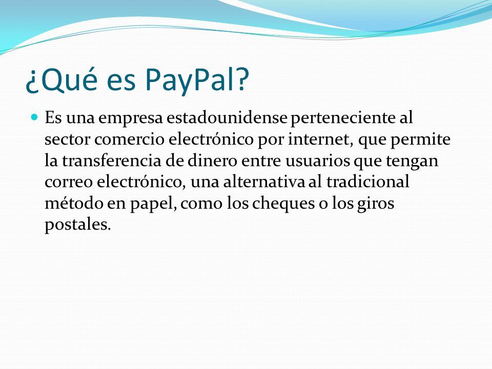 ¿Qué es PayPal.