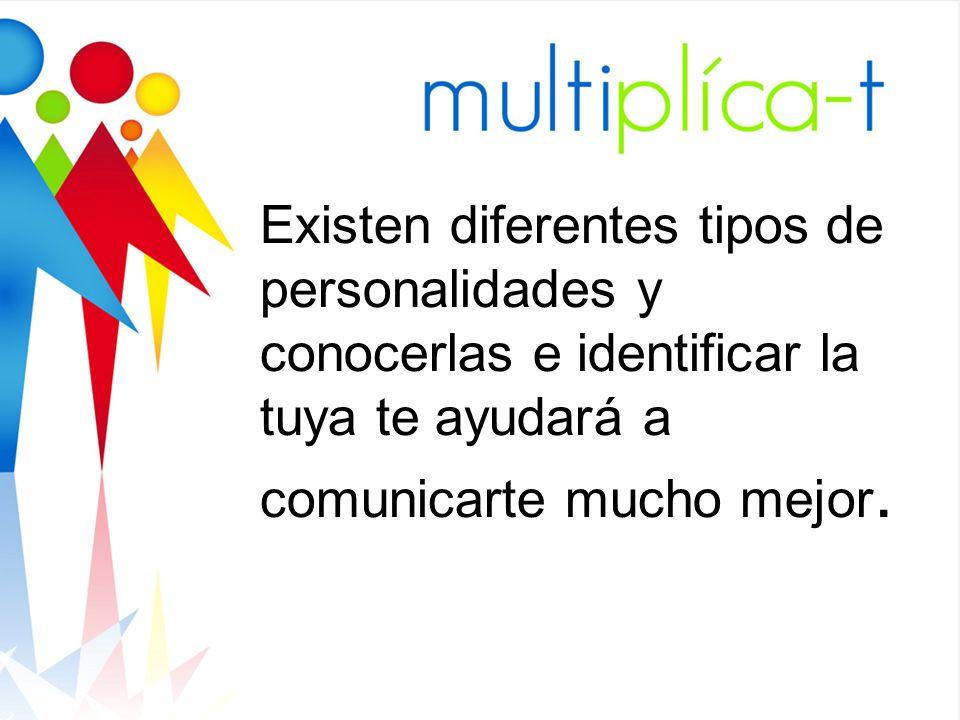 Existen diferentes tipos de personalidades y conocerlas e identificar la tuya te ayudará a comunicarte mucho mejor.