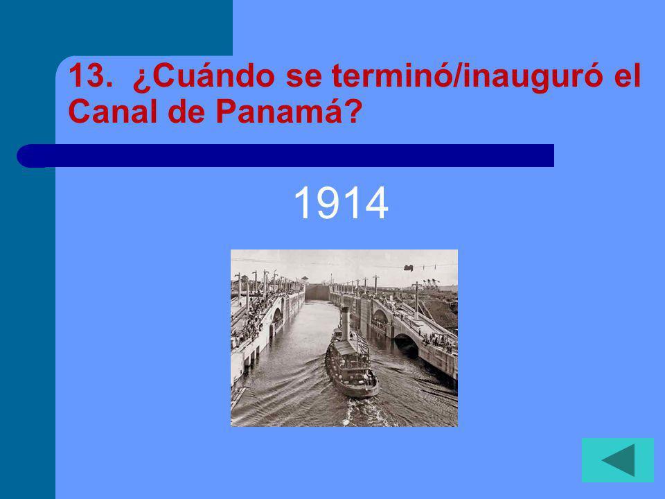 12. ¿Por qué es importante el Puente de las Américas.