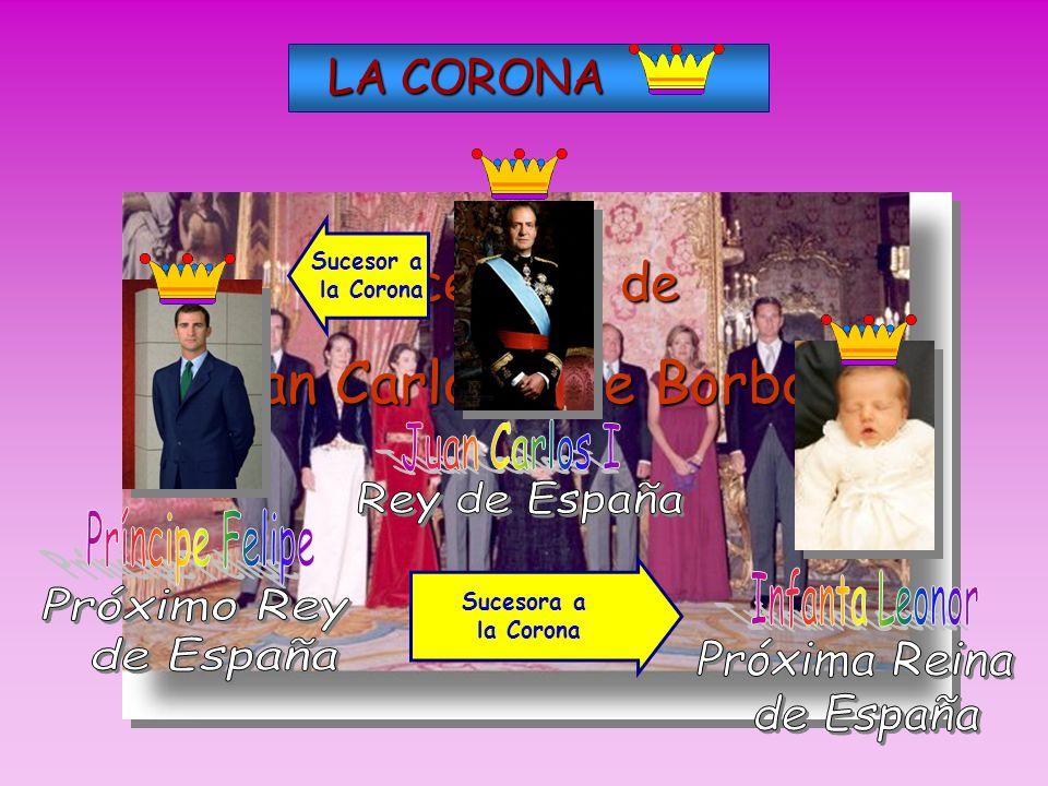 En el caso de España, al tener hij@s Don Juan Carlos, ést@s serán sus legítimos herederos.