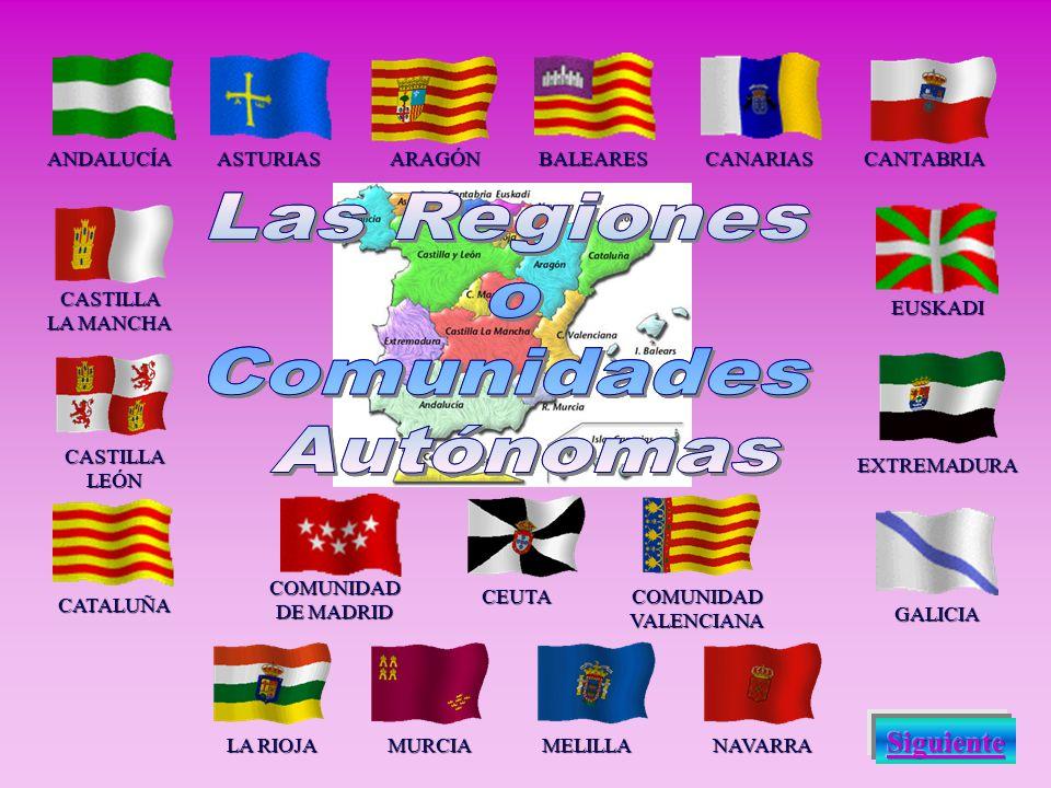 ESPAÑA es la patria de l@s español@s, y todas las regiones que la integran tienen derecho a una autonomía, manteniéndose siempre la unidad de la nació