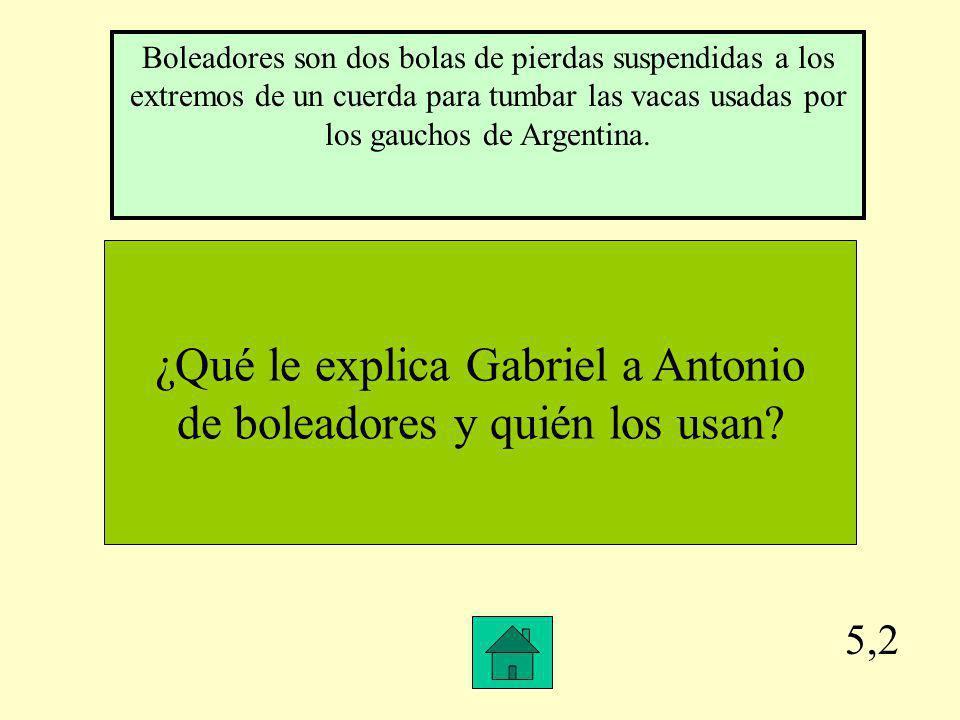 5,1 Nombra a todos los países hispanos incluyendo el país en África que habla español en orden del alfabeto.