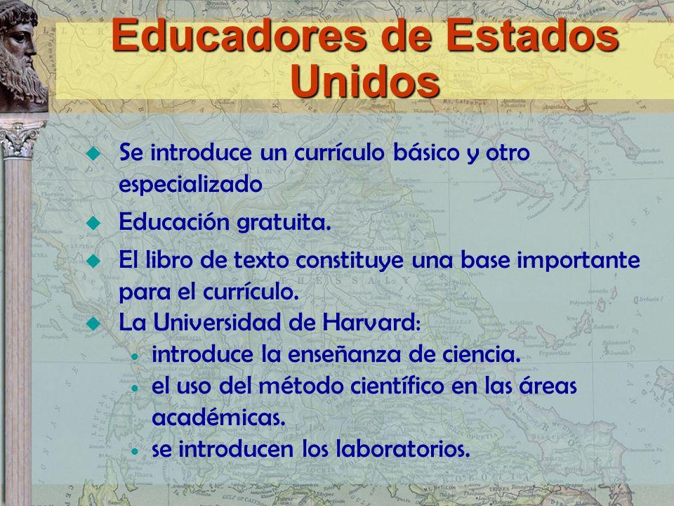 Se introduce un currículo básico y otro especializado Educación gratuita. El libro de texto constituye una base importante para el currículo. La Unive