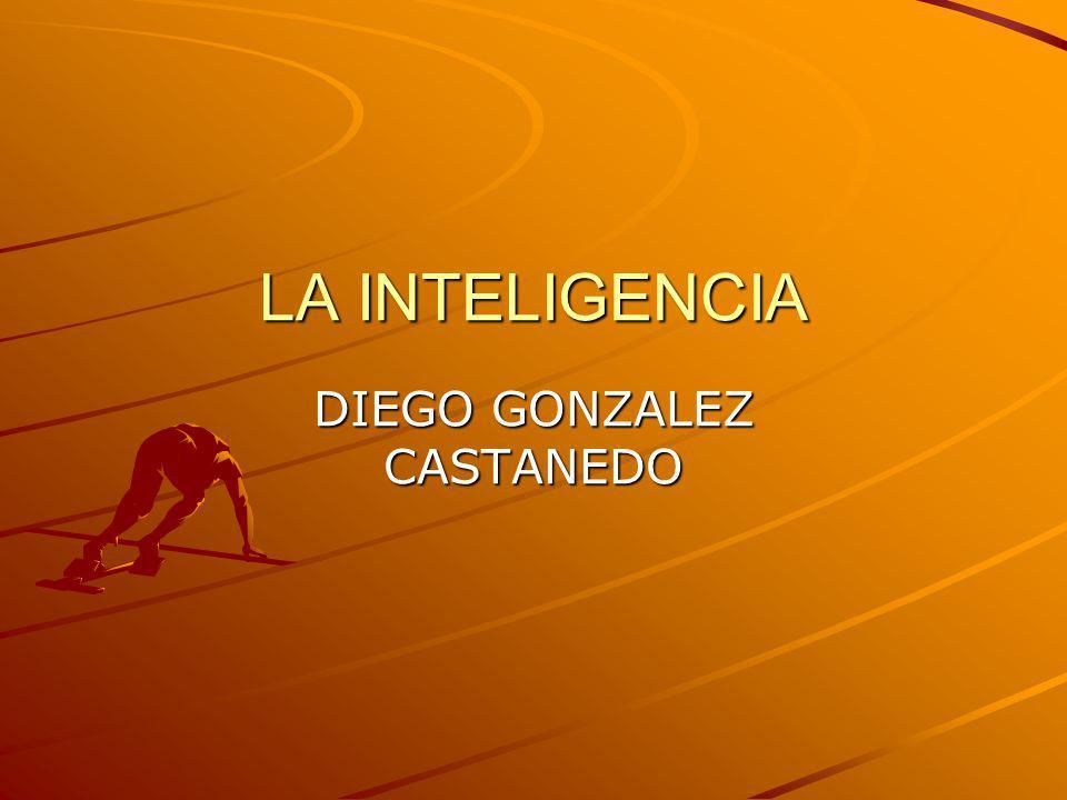 LA INTELIGENCIA DIEGO GONZALEZ CASTANEDO