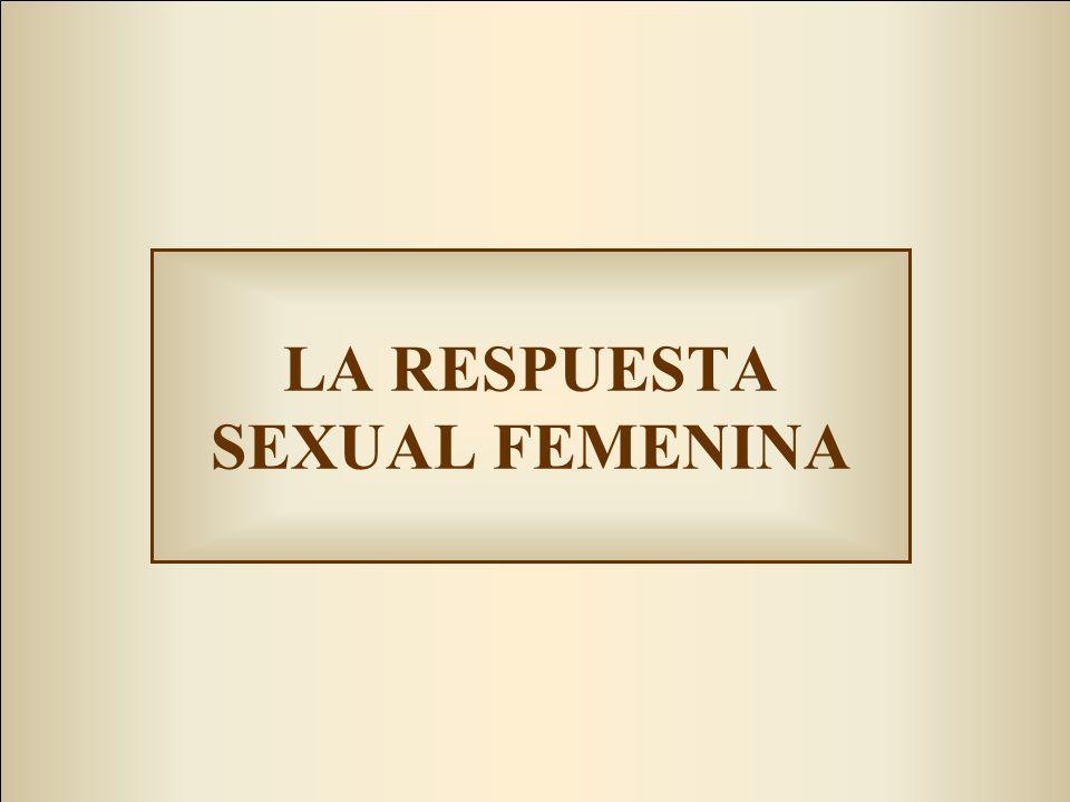 LA RESPUESTA SEXUAL FEMENINA