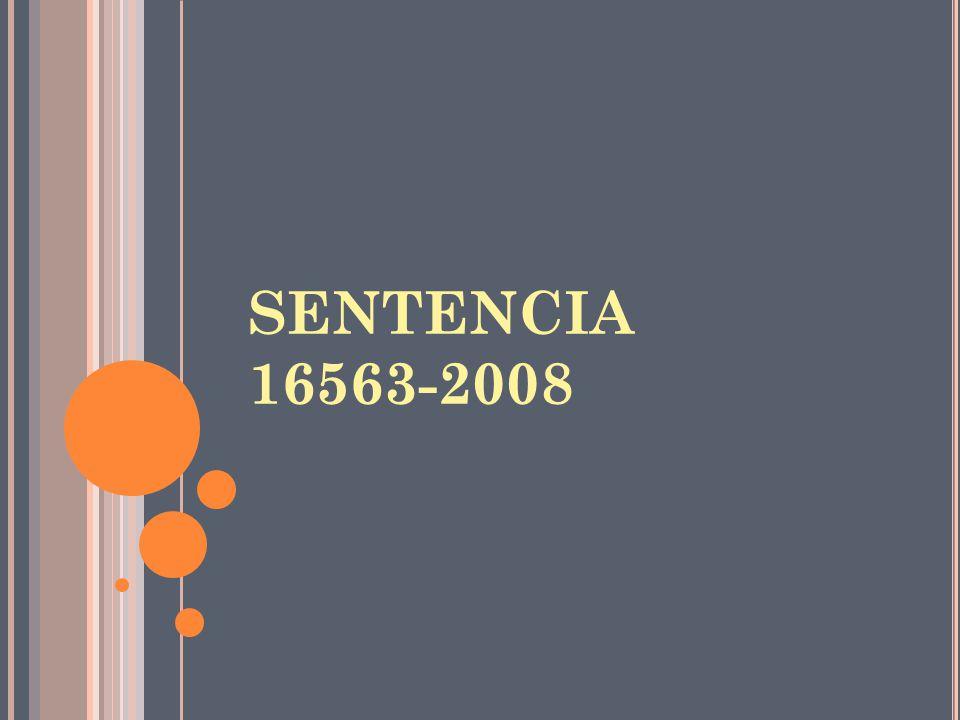 SENTENCIA 16563-2008