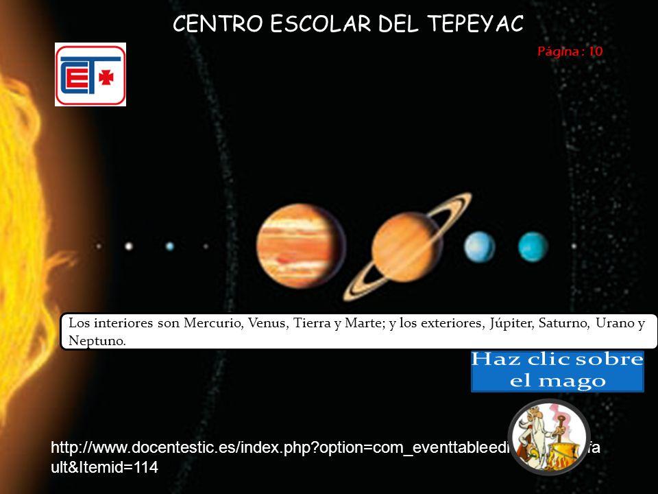 Página : 11 CENTRO ESCOLAR DEL TEPEYAC Los satélites Se han elaborado con distintos propósitos.