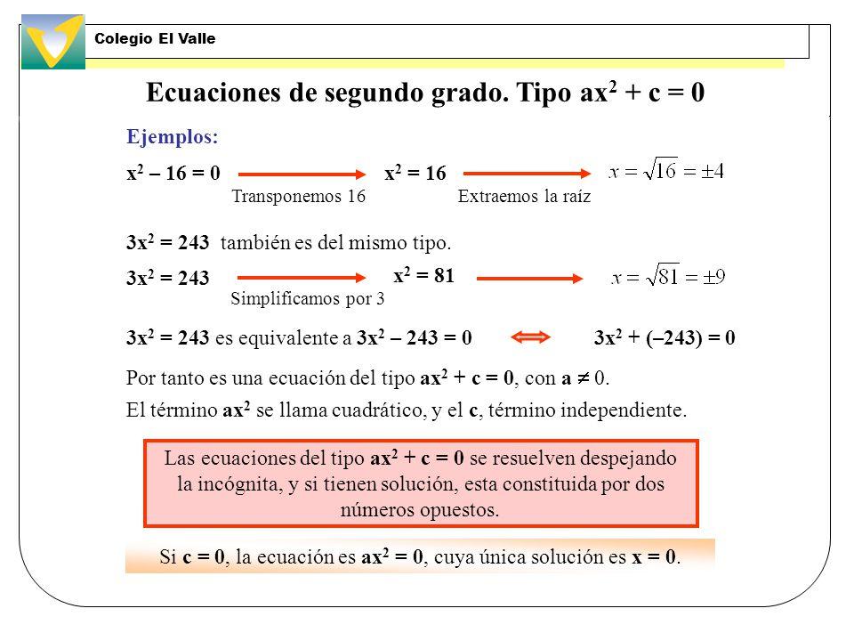 Resolución de problemas mediante ecuaciones de primer grado: problema resuelto 1.º Años que tienen que transcurrir ……………….… x 3.º Resolvemos la ecuaci