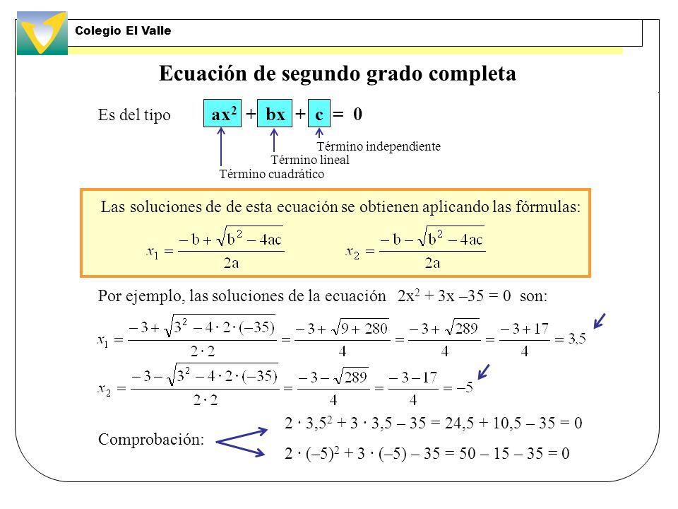 Ecuaciones de segundo grado. Tipo ax 2 + bx = 0 Ejemplos: x 2 – 4x = 0 La ecuación 7x 2 – 42x = 0 también es del mismo tipo. Las ecuaciones anteriores