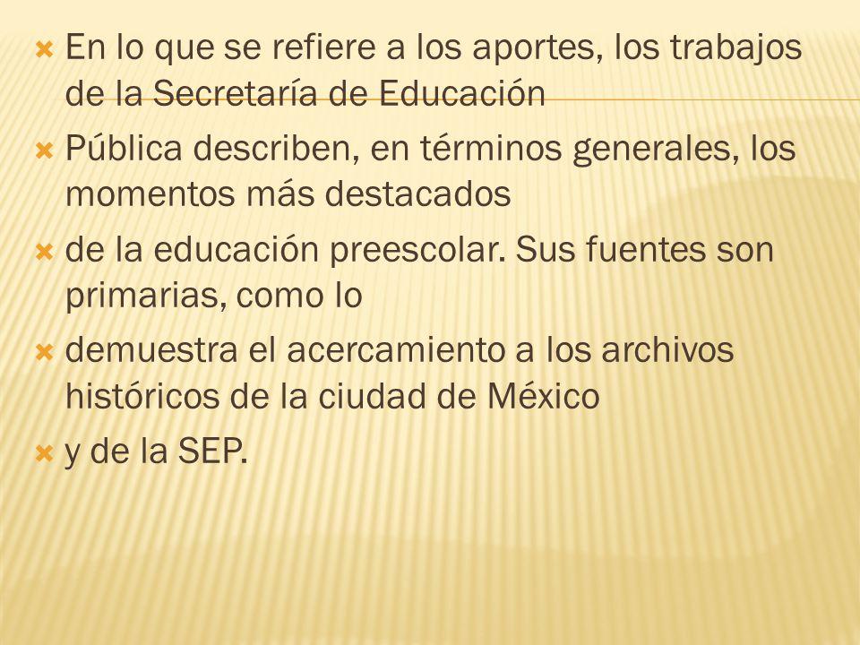 Aunque a lo largo de esta historia sólo se mencionan algunos aspectos políticos, económicos y sociales de México, el trabajo nos da un panorama general de lo que sucedió durante 100 años o más de existencia de este nivel.