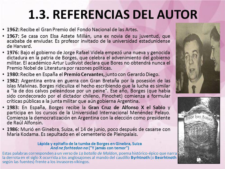 1962: Recibe el Gran Premio del Fondo Nacional de las Artes. 1967: Se casa con Elsa Astete Millán, una ex novia de su juventud, que acababa de enviuda