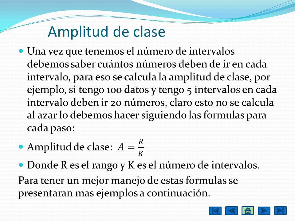 Amplitud de clase