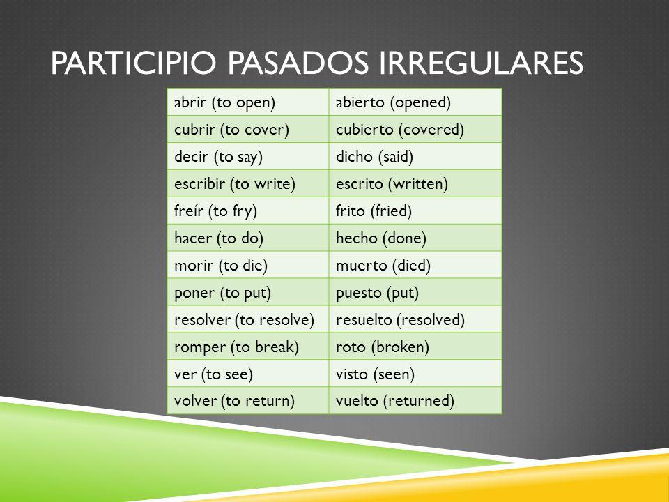 PLUSCUAMPERFECTO Español 3A- Unidad 3