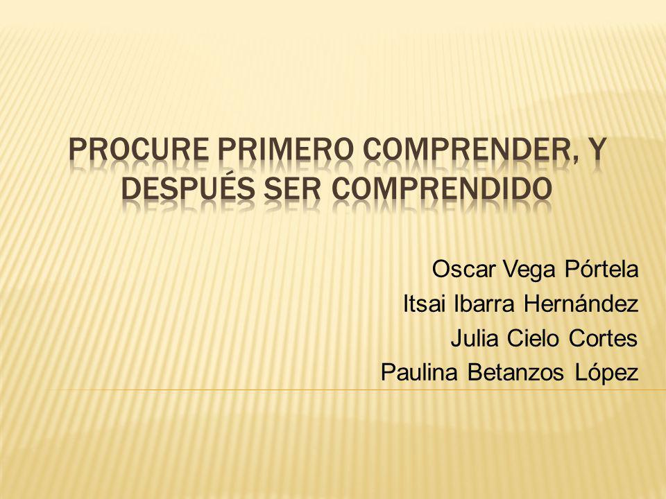 Oscar Vega Pórtela Itsai Ibarra Hernández Julia Cielo Cortes Paulina Betanzos López