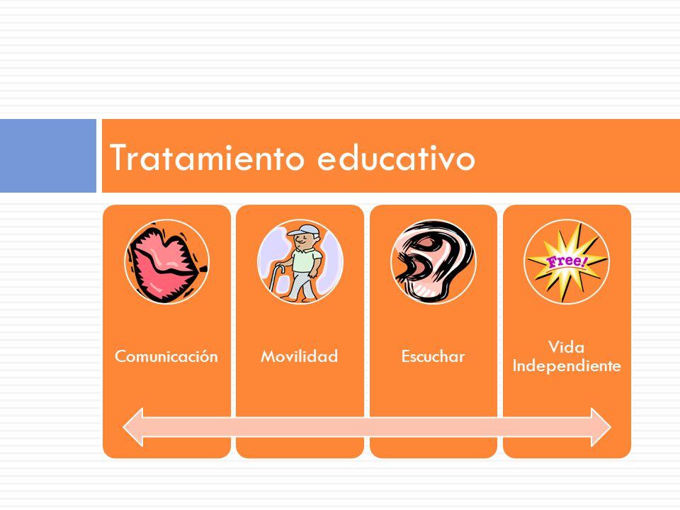 ComunicaciónMovilidadEscuchar Vida Independiente Tratamiento educativo