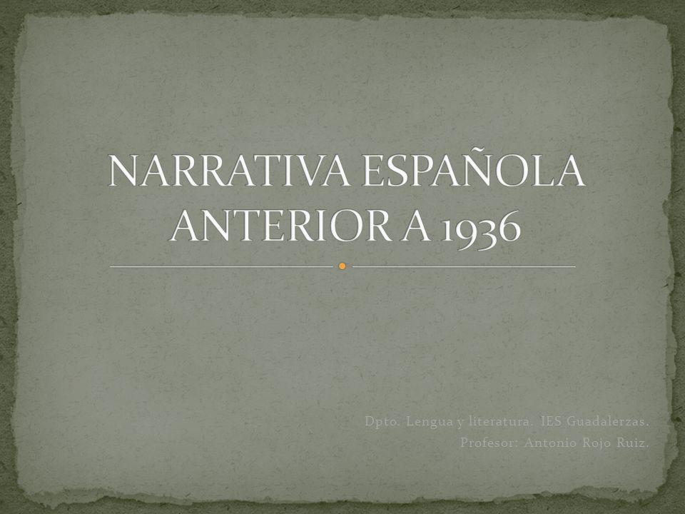 Dpto. Lengua y literatura. IES Guadalerzas. Profesor: Antonio Rojo Ruiz.