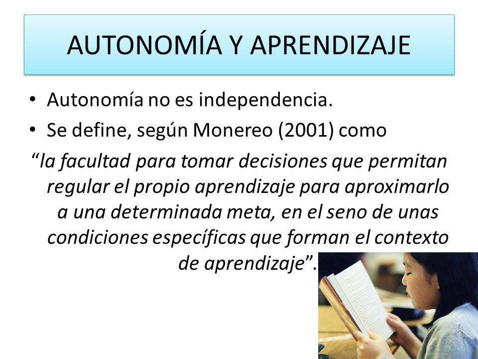 Autonomía vrs Independencia Dependencia: el estado de carácter permanente en que se encuentran las personas que, por razones derivadas de la edad, la