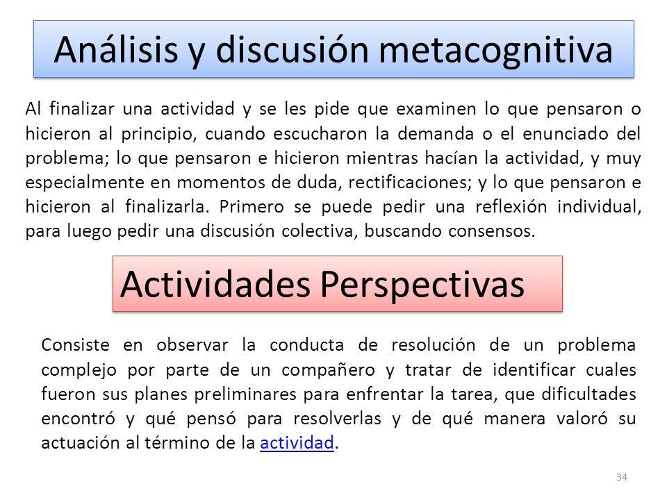 Fase 1: Presentación de la estratégia Análisis de casos Entrevista a un experto El análisis y discusión metacognitiva Actividades perspectivistas El m