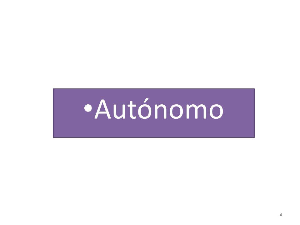 4 Autónomo