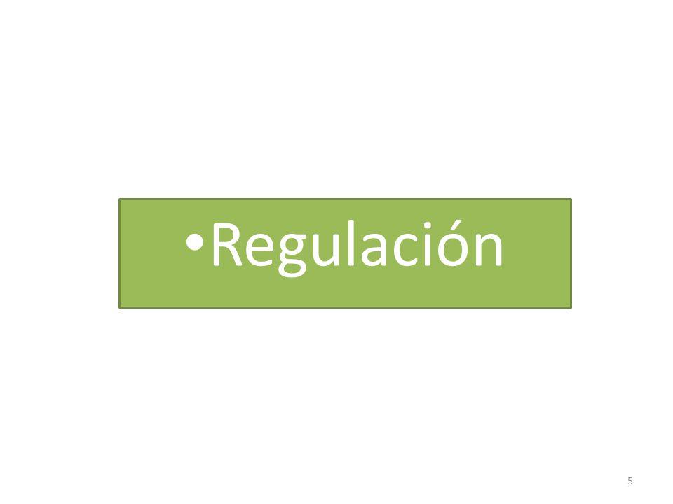5 Regulación